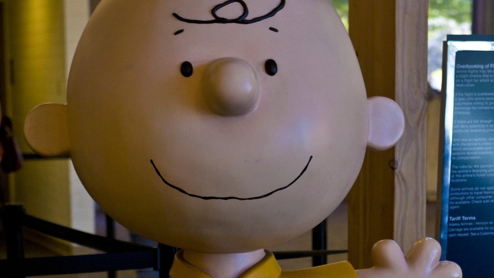 A representational image of Charlie Brown from Charles Schulz's iconic creation, Peanuts