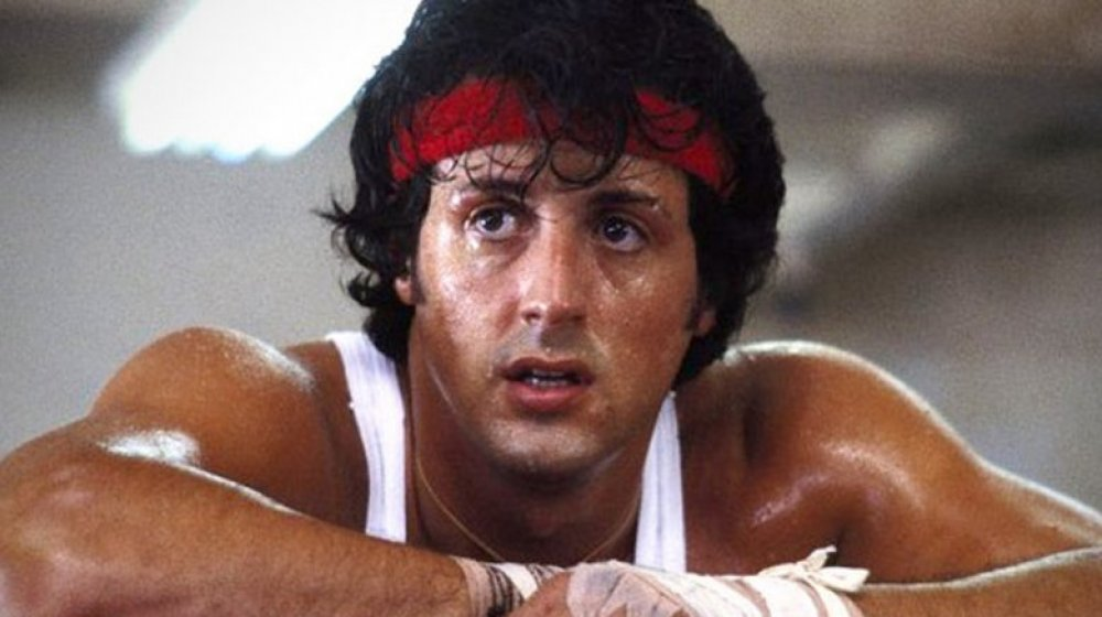 Sylvester Stallone in the Rocky franchise