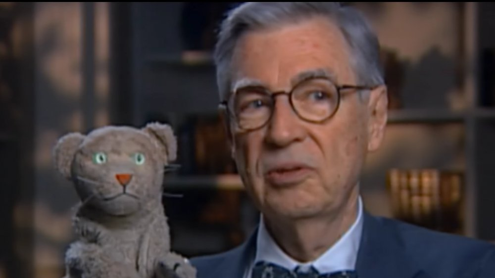 Fred Rogers and Daniel Striped Tiger