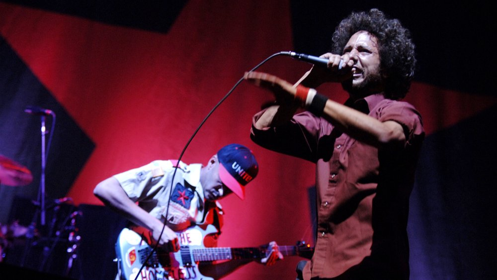 Rage Against the Machine onstage