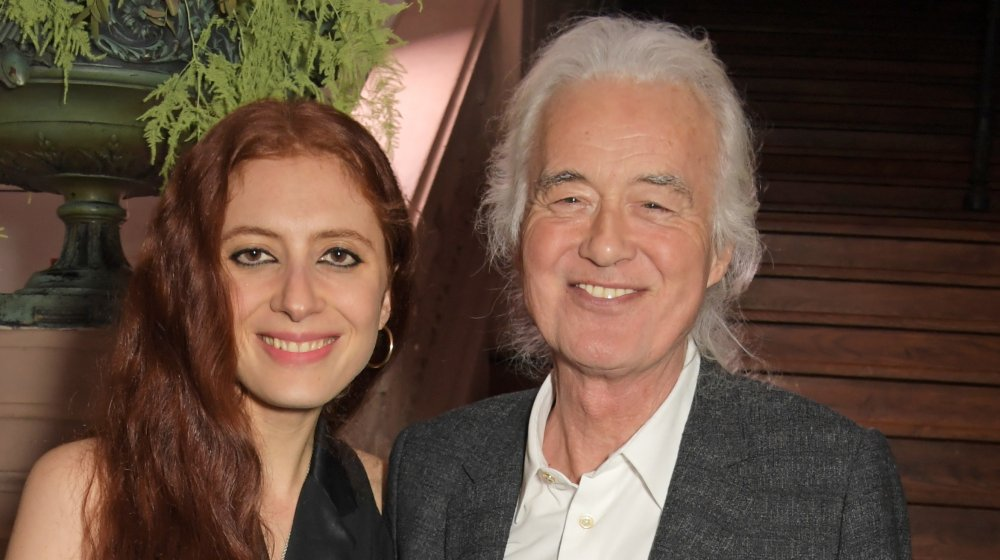 Scarlett Sabet and Jimmy Page, 2020