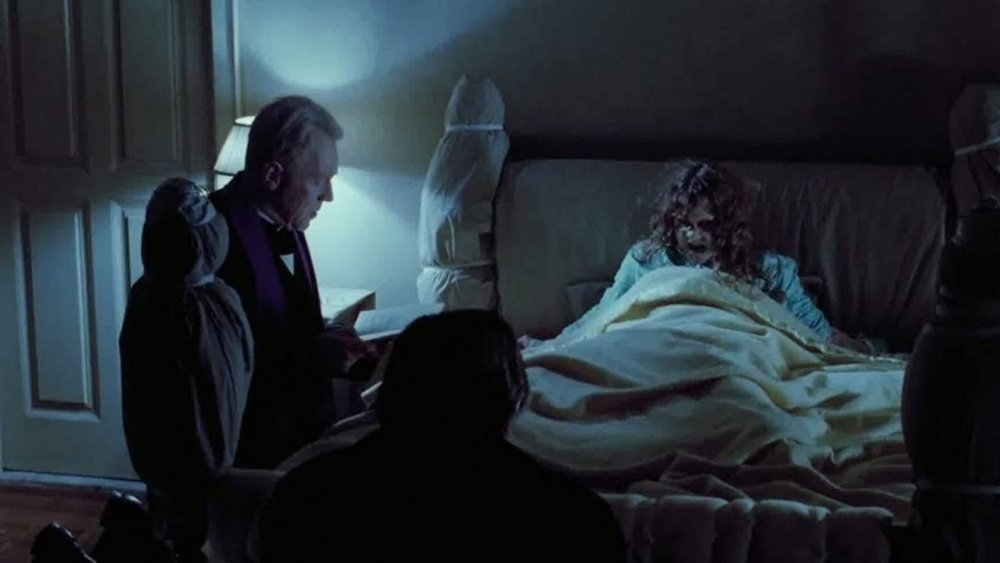 Max von Sydow and Linda Blair in The Exorcist