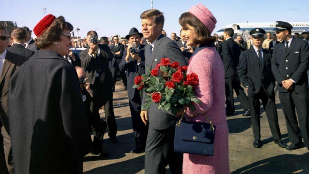 The Kennedys arrive at Dallas' Love Field
